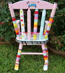 Personlaized Kids Rocker Custom Painted Rocking Chair For ...