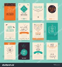 Free Cute Halloween Flyer Templates by Halloween Party Invitation Greeting Card Flyer Stock Vector