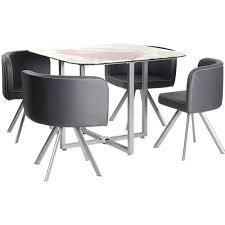 table et 4 chaises soda ensemble table 4 chaises grises