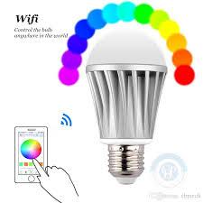 led smart bulb 7 5w e27 rgb led wifi light bulb color temperature