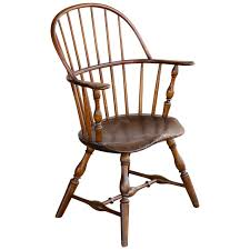 Vintage Early American Sack-Back Windsor Armchair | Special ...