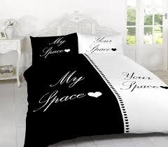 MY SPACE YOUR SPACE DUVET SET QUILT COVER WITH PILLOW CASES