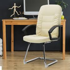 Vinsetto High Back Office Chair W/Thick Padded Cushion, PU Leather-Cream Cirebon Stacking Mesh Guest Chair Fowler Highback By Flexsteel Medline Industries Inc Vinsetto High Back Office Wthick Padded Cushion Pu Lthercream Cheap Executive Chairs Find Ki Torsion Air Black Stack Younique Via Seating Back Bistro Chair Stool Source Fniture Alera Metalounge Series Highback 25 X 2637 437 Seatblack Silver Base Global Group Ofm Big And Tall Reception With Arms Microbantibacterial Vinyl Midback Genaro 2413 2588 3663 7302821 Del Mar Park Home