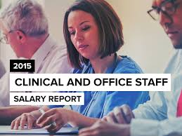 Front Desk Receptionist Salary Seattle by Clinical U0026 Office Staff Salary Report