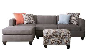 Small Spaces Configurable Sectional Sofa Walmart by 3 Piece Small Space Reversible Grey Microfiber Sectional Sofa With