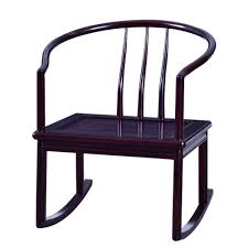 Amazon.com: XUEXUE Rocking Chair, New Chinese Solid Wood ...