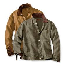 Men s Cotton Canvas Jacket Canvas Rancher s Jacket Orvis
