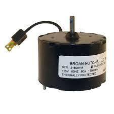 Nutone Bath Fan Motor by Nutone 26750ser Motor Only No Fan Online