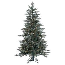 Target Artificial Christmas Trees Unlit by 5 U0027 Crystal Frost Balsam Fir Artificial Christmas Tree With Clear