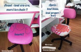 pour fauteuil de bureau une nouvelle housse pour chaise de bureau diy l heureuse