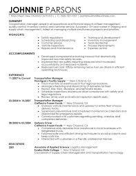 Transportation Operations Manager Job Description Free Template Cafe For Resume