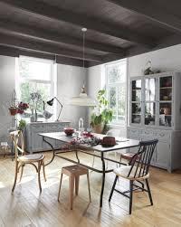 stuhl aus weißem metall und mangoholz maisons du monde