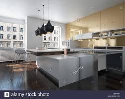 100 Urban Loft Interior Design Modern Design Kitchen Interior With Golden Wall In An Urban