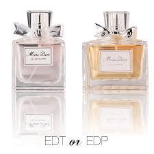 miss edt or edp eau talk the official fragrancenet