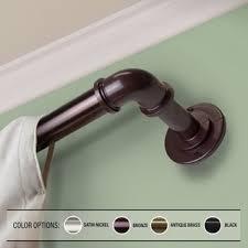 Blockaide Double Curtain Rod by Barricade Adjustable Energy Saving Wraparound Curtain Rod