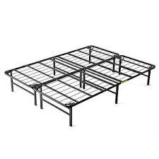intelliBASE Lightweight Easy Set Up Bi Fold Platform Metal Bed
