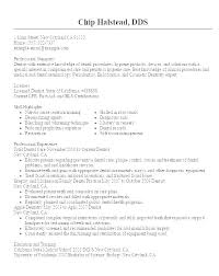 Sample Dental Resume Hygiene Templates Perfect Example