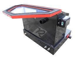 Central Pneumatic Blast Cabinet Glass by New Redline Benchtop Re22 Abrasive Sand Blaster Blast Cabinet