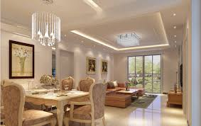 stylish 3d ceiling living room dining room lights 3d design