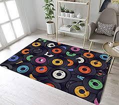 mianbao teppiche funnys lustige schallplatten und für kinder baby home wohnzimmer rutschfeste schlafzimmer flur küche bad badematten 60 x 90 cm