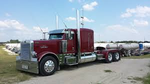 Corvette Of Trucking: 'Monterey Red' 2012 Peterbilt 389