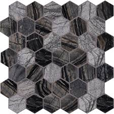 Home Depot Merola Hex Tile by Ms International Henley Hexagon 12 In X 12 In X 10 Mm Natural