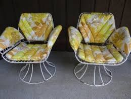 Vintage Homecrest Patio Furniture by Swivel Patio Chairs Open Travel