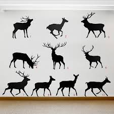 Stag And Deer Vinyl Wall Stickers By Oakdene Designs ... Kc Vinyl Decals Graphics Signs Banners Custom Nice Buck Browning Deer Hunting Decal Hunter Head With Name Car Commander Sticker Truck Laptop Kayak Etc Family Vinyl Sticker Decal Car Window Decalkits Oh Mrigin Waterfowl For Trucksfunny Trucks For Bigbucklife At Superb We Specialize In Decalsgraphics And Whitetail Buck Hunting Truck Graphic