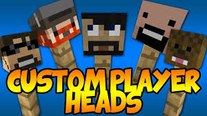 How to Get Custom Player Heads in Minecraft 1 8 No Mods Super