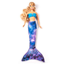 Doll Mermaid Tails For Fashion Dolls Galaxy Mermaid Doll Tail Set