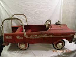 100 Antique Fire Truck Pedal Car Vintage 1960s Murray Pumper All Original