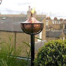 Citronella Oil Lamps Uk by Globe Garden Oil Torch By London Garden Trading