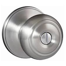 Defiant Hartford Satin Nickel Privacy Bed/Bath Door Knob-TGX210 ...