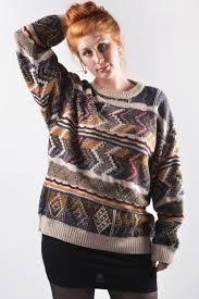 ENZO LORENZO 80s Vintage Sweater