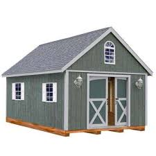 10x20 Storage Shed Kits by Wood Sheds Sheds The Home Depot
