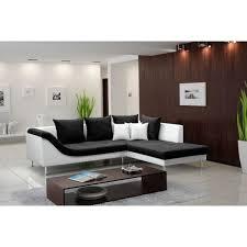 canapé d angle 4 places aragon design et moderne de couleur tissu