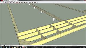 Floor Joist Size Residential by Floor Joist Sketchup Narrated Youtube