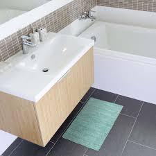 details zu badematte badteppich mint 50x70 cm frottee optik badvorleger duschvorleger