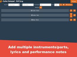 Rocket Smashing Pumpkins Tab by Guitar Notepad Tab Editor 2 3 0 Apk Download Android Music