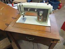 Vintage Kenmore Sewing Machine In Cabinet by Vintage Sewing Machine Ebay
