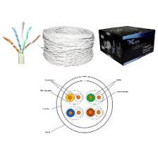 Caja De Cable Utp Cat 5 Blanco 8 Hilos 305 Metros Nivel 5 en