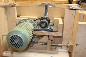 wooden table saw and router lift homemade shop machines and