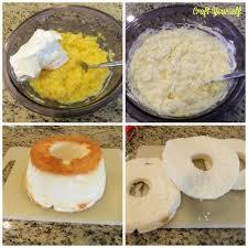 Pina Colada Angel Lush Cake Craft