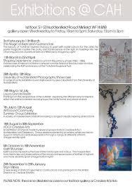 Cah Gallery Programme 2017 P2