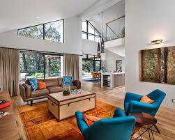 Orange Living Room Decor Home Design Ideas
