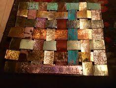 Woven Copper Wall Art