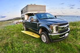 100 Pick Up Truck Camper Mobile Lifestyle In A Pickup Truck Camper With A Surfboard Ready