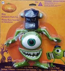 Monsters Inc Mike Wazowski Pumpkin Carving by Amazon Com Disney Monsters Inc Mike Wazowski Halloween Decoration