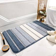 blau badvorleger und weitere badtextilien günstig