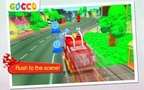 Gocco Fire Truck - 3D Games For Tiny Firefighters FREE (free Android ...